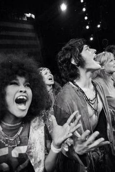 Marsha Hunt & Mick Jagger.