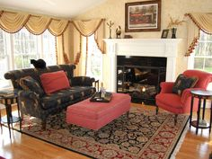 Traditional Living-rooms from Helen Richardson on HGTV