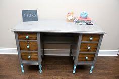 Upcycled Desk