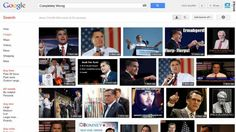 "A Google Image search for ""completely wrong"" returns page of Romney photos.  (oflmao!  it really does!)"