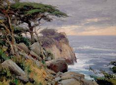"WATER ON THE ROCKS- Matt Smith ""Point Lobos"""
