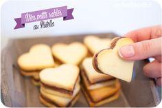 Mes sablés au Nutella de la Saint-Valentin ♥