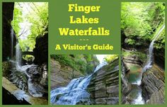 The Finger Lakes are 11 glacial lakes, shaped like fingers, in central New York state. Check our our visitors guide to the myriad Finger Lakes Waterfalls.