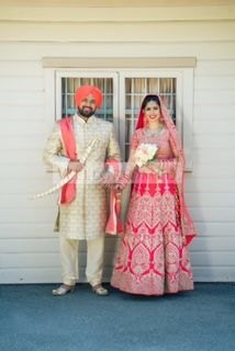 Here's a beautifully captured shot by our friends @deostudios of our client Anita in her Sabyasachi inspired Bridal lehenga! Absolutely breathtaking! Are you looking to start the design process of the bridal outfit of your dreams? Or that showstopping party wear piece? Email us at sales@wellgroomed.ca  #allthingsbridal #indianfashion #wedding #bride #style #fashion #designer #glamour #makeup #beauty #picoftheday #happy #me #love #instamood #instagood #married #beautiful #indian #punjabi