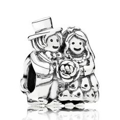 Pandora Mr Mrs Wedding Charm Only 24 Charms