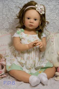 A personal favorite from my Etsy shop https://www.etsy.com/listing/234415995/custom-order-reborn-toddler-doll-baby