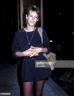 Actress Jamie Lee Curtis attend the Taping of Fridays on January 22 1982 at Studio 55 ABC Television Center in Hollywood California Jamie Lee Curtis Children, Jamie Lee Curtis Young, Tony Curtis, Dope Swag Outfits, Julia Louis Dreyfus, Janet Leigh, Melanie Griffith, Lynda Carter, Classic Actresses