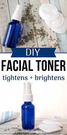 How to Make DIY Face Toner with Witch Hazel and Aloe Vera - - DIY toner is easy to make and is a great way to eliminate toxins from your skincare routine. Homemade toner with witch hazel and aloe vera tightens, tones and calms skin. Homemade Toner, Homemade Skin Care, Diy Skin Care, Skin Care Tips, Homemade Face Moisturizer, Homemade Facials, Skin Tips, Toner For Face, Facial Toner