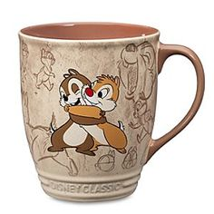Chip's face!!!! Disney Chip 'n Dale Mug | Disney StoreChip 'n Dale Mug - Store up some mischief for your mornings with a sip of motivation from this merry Chip 'n Dale mug illustrated by authentic Walt Disney Studios animation art.