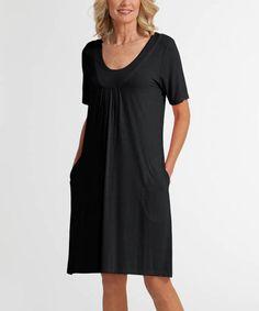 Look what I found on #zulily! Black Island Savvy Dress #zulilyfinds