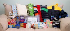 Wannabe Crafty: Toddler's 72 Hr Kit