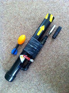 DIY Compressed-Air Rocket Launcher