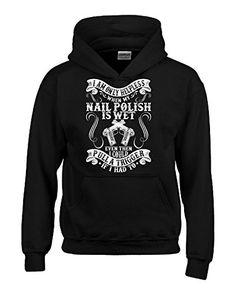I Am Only Helpless When My Nail Polish Is Wet - Hoodie Black M Super Fan Shirts http://www.amazon.com/dp/B012IQGHMS/ref=cm_sw_r_pi_dp_VtCfwb0CMZNAY