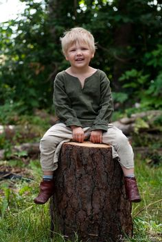 Viking boy in Skåne. Photo: Krister P