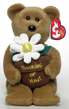You're Special, Ty Beanie Baby Ty store exclusive bear reference information and photograph. Beanie Babies Value, Beanie Baby Bears, Ty Beanie Boos, Ty Stuffed Animals, Plush Animals, Stuffed Toy, Ty Babies, Babies Stuff, Ty Bears