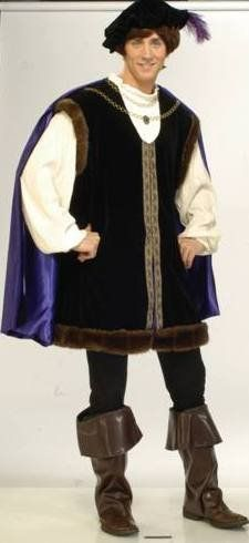 Forum Novelties Inc Men's Noble Lord Adult Designer Collection Costume X-Large (50) Black   - Click image twice for more info - See a larger selection of men Medieval Renaissance Costumes at http://costumeriver.com/product-category/men-medieval-renaissance-costume/ - men, halloween costumes, halloween  , classic costume, holidays, event, trick or treat , gift ideas, costumes, disguise.