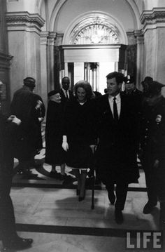 Ted and Joan Kennedy