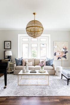 ideas to decorate living room cheap realtors 581 best rooms images in 2019 diy for home farmhouse inspiration navy blush and gold by studio mcgee apartment livingroom ideasdecorations