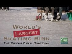 Each winter, the historic Rideau Canal, a UNESCO World Heritage Site, becomes the Rideau Canal Skateway, the world's largest skating rink. Outdoor Ice Skating, Cheap Date Ideas, Skating Rink, Before I Die, Canada Travel, Ottawa, Vacation Destinations, Great Places, Worlds Largest