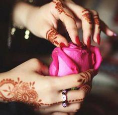 Bridal Mehndi Designs, Bridal Henna, Mehendi, Pics For Dp, Rose Images, Henna Tattoo Designs, Cuff Bracelets, Tattoos, Beautiful
