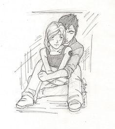 Tris and Tobias Divergent Fan Art, Divergent Fandom, Divergent Trilogy, Divergent Insurgent Allegiant, Tris And Tobias, Tris And Four, Fanart, Drawing Sketches, Drawing Ideas