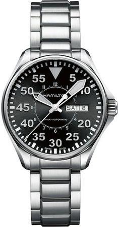 H64425135 - Authorized Hamilton watch dealer - Mens Hamilton Khaki Pilot Automatic, Hamilton watch, Hamilton watches