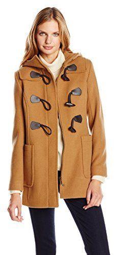 Pendleton Hooded Wool Blend Duffle Coat (Regular & Petite) | why ...