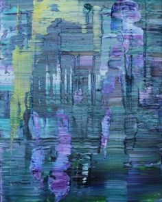 "Saatchi Art Artist Koen Lybaert; Painting, ""Giverny 005 [Abstract N° 1514]"" #art"