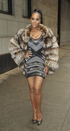 Vivica A. Fox in talks to join The View? She talks being in love with 50 Cent and says Kenya Moore's behavior sets a bad example.