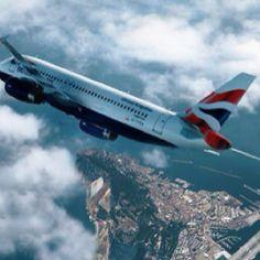 Over Gibraltar.