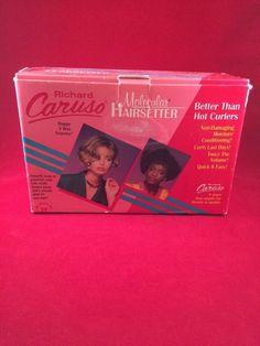 Richard Caruso Molecular Hairsetter Happy 3 Way Traveler Padgeant #Caruso
