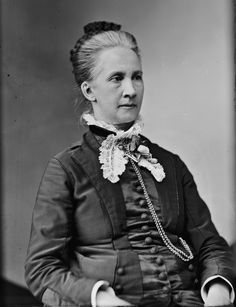 Belva Lockwood - USA - 1879: Lockwood graduated from law school in Washington, D.C. and became one of the first female lawyers in the United States. In 1879, she successfully petitioned Congress to be allowed to practice before the United States Supreme Court and became the first woman to do so. Lockwood ran for president in 1884 and 1888 on the ticket of the National Equal Rights Party and was the first woman to appear on official ballots. #womens #history #women in #politics