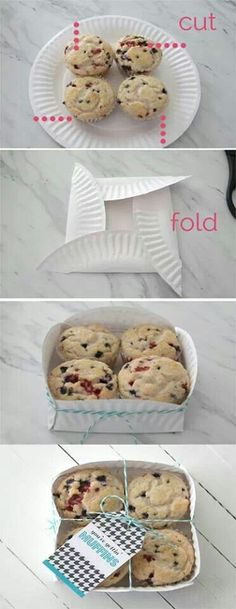 Give away cupcakes