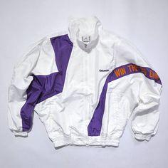 RARE Vintage 90s GOLDWIN International Tennis Gear, Zip Up Windbreaker Jacket, Wind Up Tennis Jacket Multi Colour / 80s / 90s Fashion Outfits // Retro Streetwear // Windbreaker // Oldschool // men // women // unisex // Rare Clothing Clothes Items // style // etsy