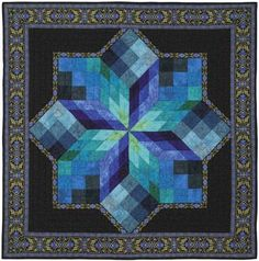 Royal Stained Glass Star Quilt Pattern to Buy at KeepsakeQuilting.com - Only $12.00 for the pattern! I need this in my bedroom; the colors are amazing!