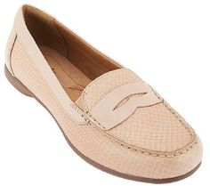 Clarks Leather Loafers - Branna Henna