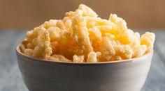 Crunchy Cheese Puffs - also recipes for homemade cheese powder, onion or garlic powder, vegan cashew cream, sour cream powder or yogurt powder Corn Puffs, Cheese Puffs, Onion Powder Recipe, Cheese Doodle, Snack Recipes, Cooking Recipes, Party Recipes, Cheese Recipes, Yummy Recipes