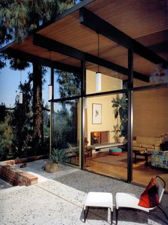 1958 Leeds Residence | Joseph Johnson | Photo: Julius Shulman