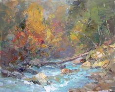"Makarov Vitaly ""The Machar River"" - oil, canvas http://www.russianfineart.co/catalog/prod.php?productid=19047"