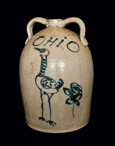 Old Ohio Red Wing Jug...