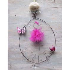 Fata dei fiori in fil di ferro e tulle by Fili di poesia