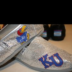 Rock chalk Toms!