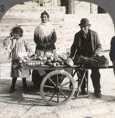 Bread vendors of Naples, Italy. vintage - love it! repinned by www.whenangelscook.com