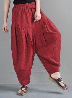 Yoga Harem Pants, Yoga Pants Outfit, Women's Pants, Boho Pants, Trousers, Loose Pants, Wide Leg Pants, Carnival Outfits, Mode Plus