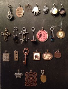 Charm boards - created by Debi West