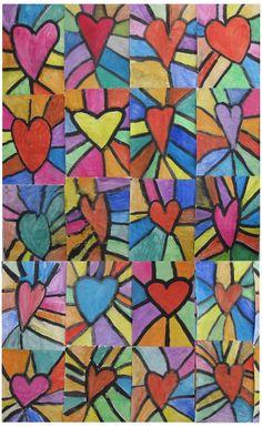 Einige Ergebnisse aus dem Kunstunterricht - Schule Am Lindenberg