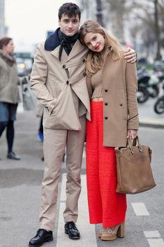 Nobody said you had to be Parisian to dress how you want. // Ah, to be Parisian and pull off these amazing pants...
