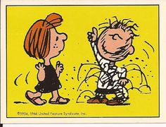 February 11, 1980 - Peppermint Patty and Pigpen on Valentine's Day Dance