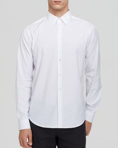 Theory Sylvain Wealth Button Down Shirt - Slim Fit