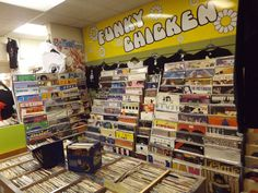 Funky Chicken record shop